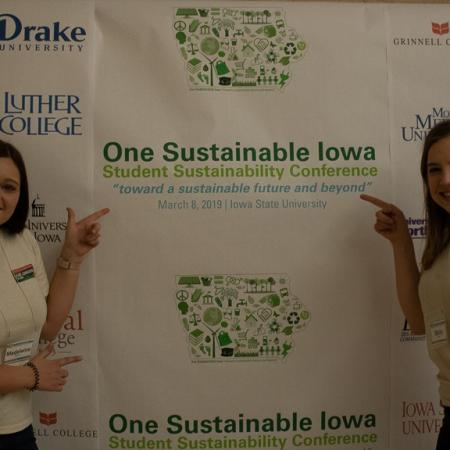 One Sustainable Iowa Student Conference was the first of its kind at Iowa State University.