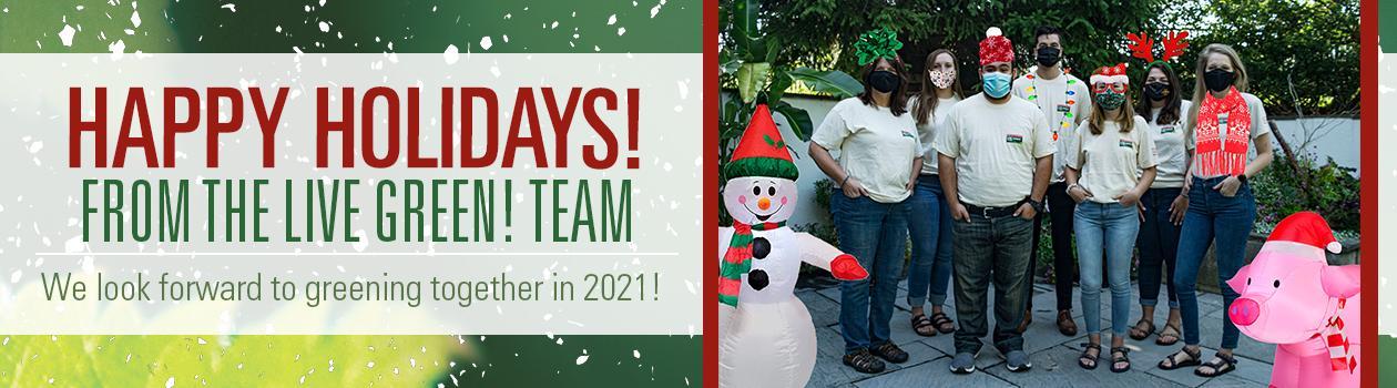 2020 Happy Holidays from LG!