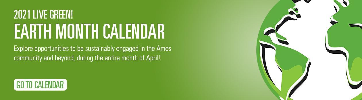 2021 Earth Month Calendar